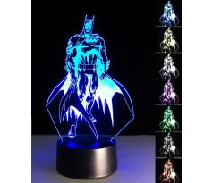 Beling 3D lampa, Batman , 7 barevná S163842AS